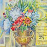 Joy Bouquet Poster