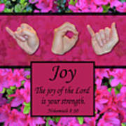 Joy Of The Lord Poster