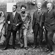 Joyce, Pound, Quinn & Ford Poster
