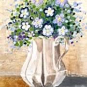 Jug Bouquet Poster