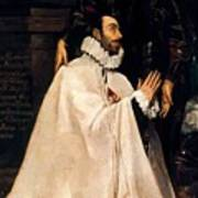 Julian Romero De Las Azanas And His Patron St Julian Poster