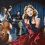 Julie London - Cry Me A River Poster