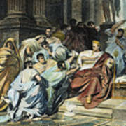 Julius Caesar (100-44 B.c.) Poster