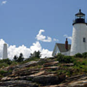 July 2005 At Pemaquid Point Light Poster