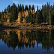 Jumbo Lake In The Fall Poster