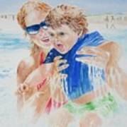 Jumping The Shore Break Poster