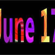 June 17 Poster