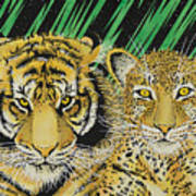 Jungle Cats Poster