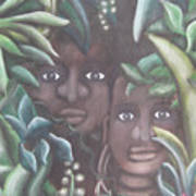 Jungle Depths Poster