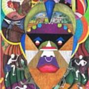 Jungle Mask Poster