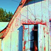 Junior's Barn Window Poster