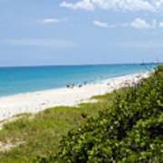 Juno Beach On The East Coast Of Florida Poster