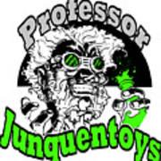 Junquentoys Circular Logo Poster