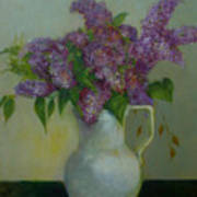 Just Lilacs                 Copyrighted Poster