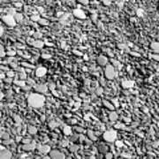 Just Rocks - Black And White Poster