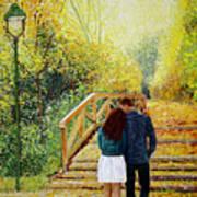 Just Walking Poster