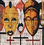Kabila Masks Poster