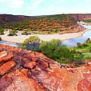 Kalbarri National Park 2am-29388 Poster