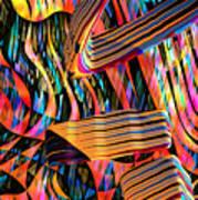 kaleido Calligraph 10x11m3n27m5aa Poster
