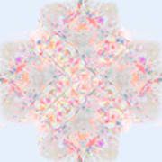 Kaleidoscope Abstract Poster