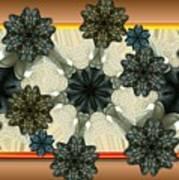 Kaleidoscopeflowers Poster