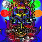 Kali Yuga Poster by Eric Edelman