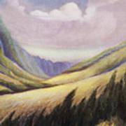 Kalihi Valley Art Poster