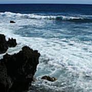 Kanaio Ahihi Kinau Maui Hawaii Poster