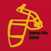 Kansas City Chiefs Retro Poster
