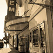 Kansas City - Gem Theater Sepia 2 Poster