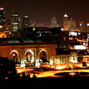 Kansas City Lights Poster