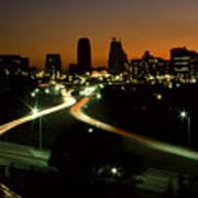 Kansas City Skyline, 1981 Poster