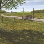 Kansas Farm Poster