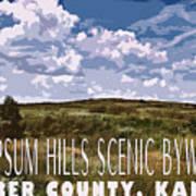 Kansas Travel Image Four Poster