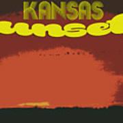 Kansas Travel Image Nine Poster