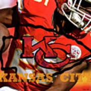 Kareem Hunt, Kansas City Chiefs Poster