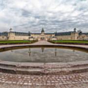 Karlsruhe Palace View Poster