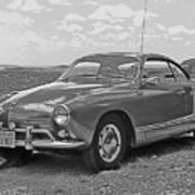 Karmann Ghia Coupe I I I Poster