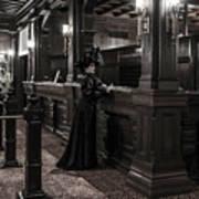 Kate Morgan Checking In At The Hotel Del Coronado Poster