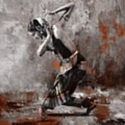 Kathak Dancer A1 Poster