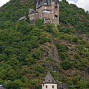 Katz Castle And Village Poster