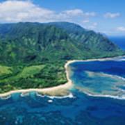 Kauai, Tunnels Beach Poster