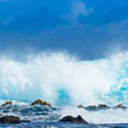 Kauai Waves Poster