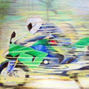 Kawasaki Quick - Kawasaki Zl1000 Poster