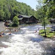 Kayak Practice Waters Poster