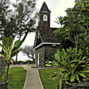 Keawala'i Congregational Church Poster