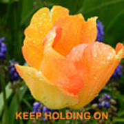 Keep Holding On Poster