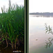 Kennersley Pt Marina 3d Crossview Stereo Poster