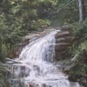Kent Falls Poster by Jack Skinner