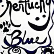 Kentucky Blue Poster